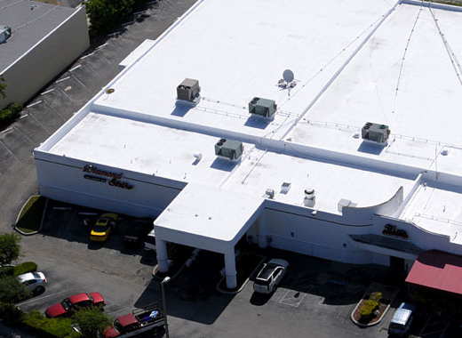 Commercial Silicone Roofing Coating