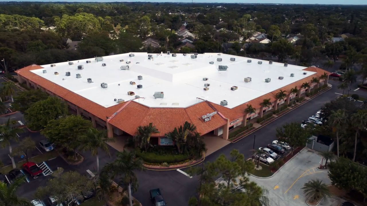 polo roofing silicone coating roof