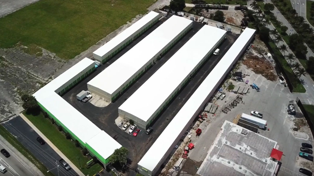 Commercial Roofing Project - LAUDERHILL FL