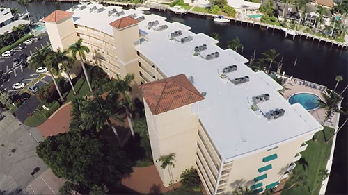 Commercial Roofing Project - Pompano Beach Fl