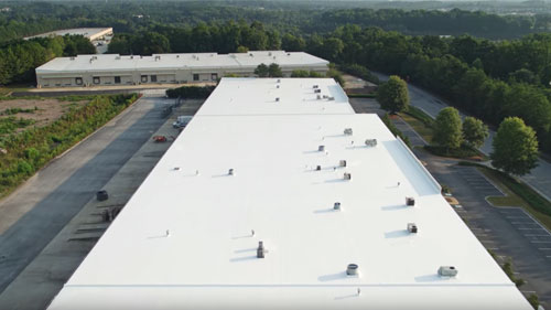 Commercial Roofing Project - Atlanta, GA
