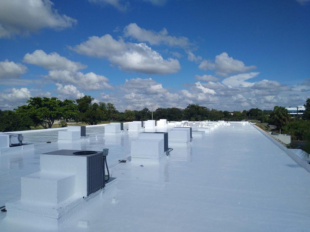 Silicone Roof Restoration - Polo International