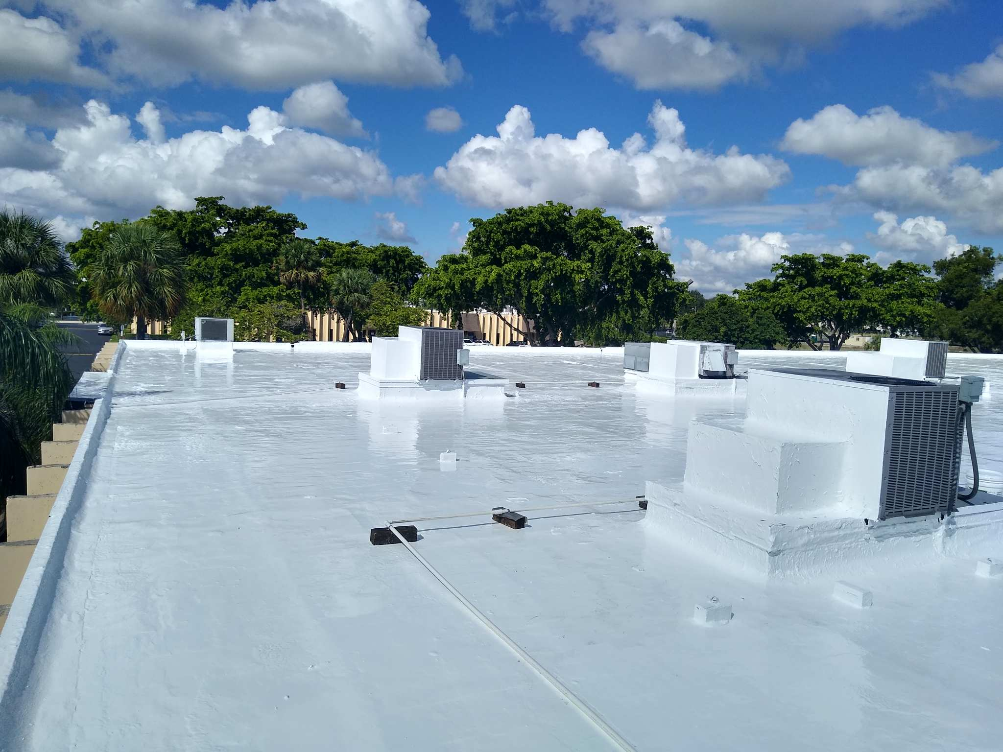 Silicone Roofing Installer