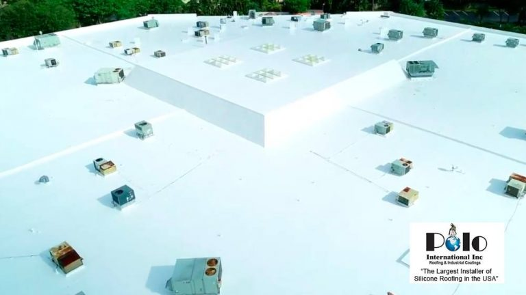 Silicone Commercial Roofing Contractor