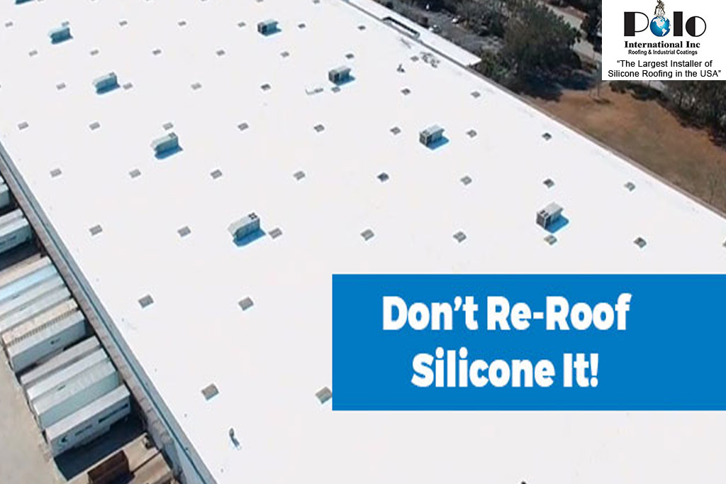 Commercial Silicone Roofing Company
