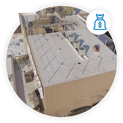 silicone roof coatings save money